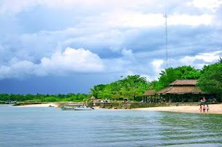 Tanjung Lesung Beach In West Java