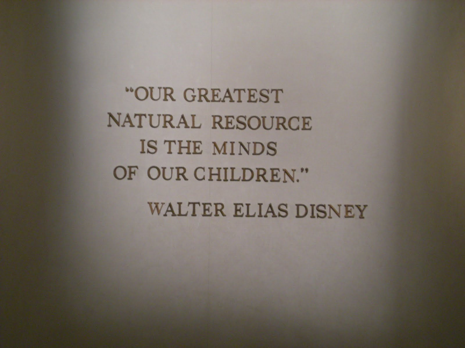 A Teacher's Life for Me: Friday's Five - Walt Disney Quotes