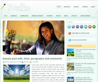 NicePen Blogger Template