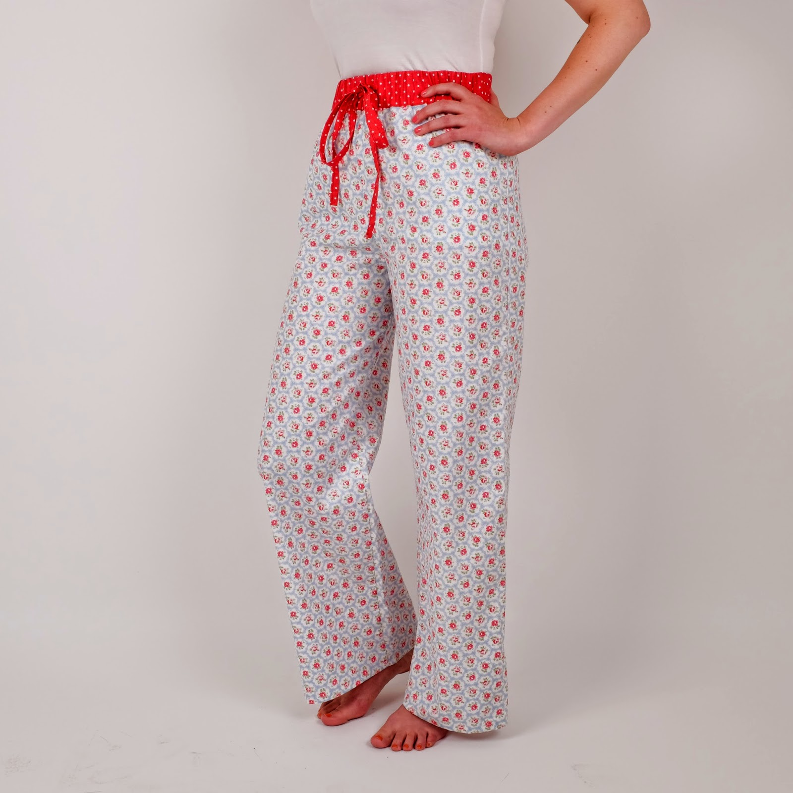 youll leave our course with a pair of pj bottoms like this but in your chosen fabric we used cath kidston cotton 4250 for 4 hours of expert and very