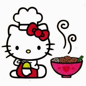 Gambar Hello Kitty Memasak Mie Hello Kitty Cooking Games