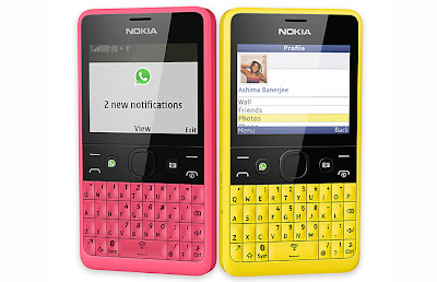 Nokia Asha 210 Harga Spesifikasi, Hp Qwery Murah berkualitas