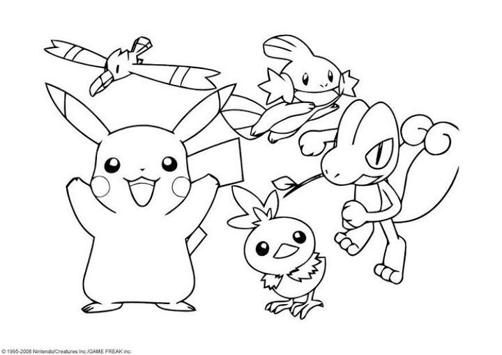 Dibujos y Plantillas para imprimir: Dibujos de Pokemon para pintar o ...