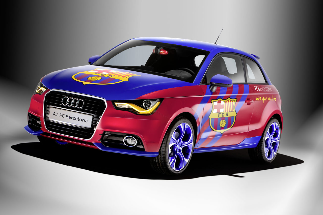 audi a1 fc barcelona edition garage car