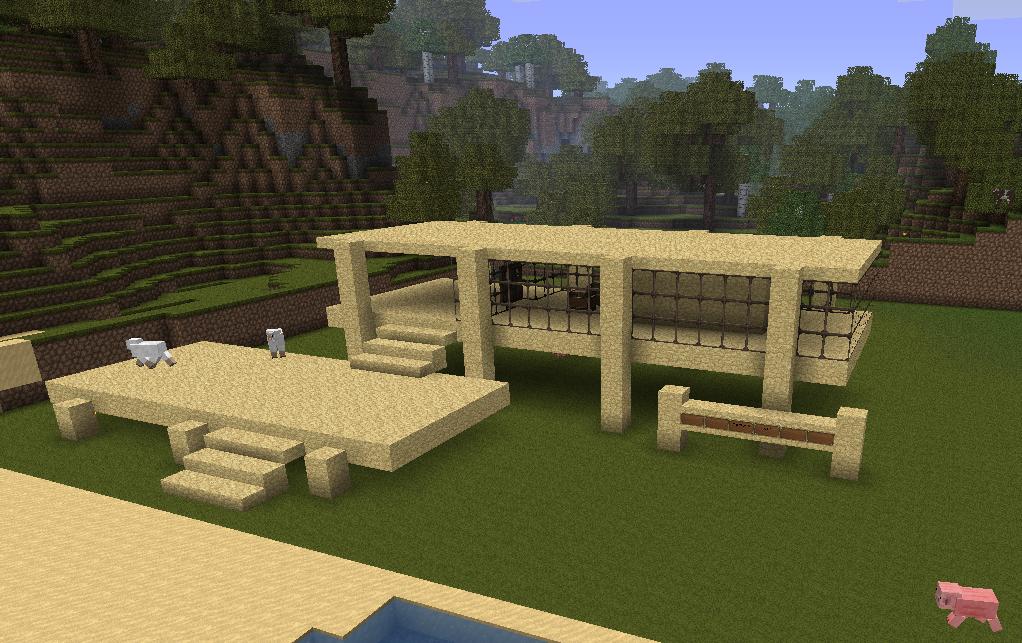 Minecraft randomness on pinterest minecraft houses for Modern home stuff