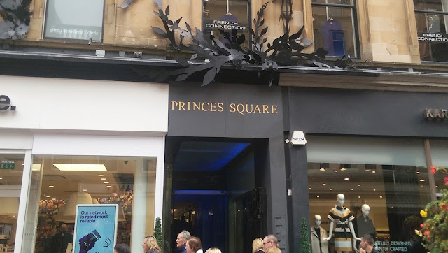 Princes Square Glasgow Entrance