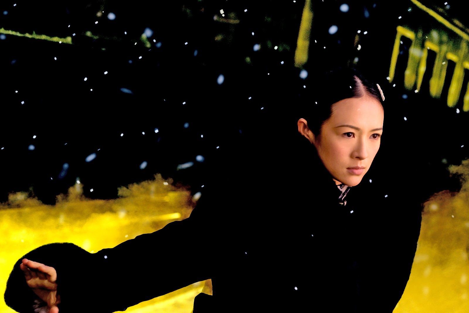 Ziyi Zhang as Gong Er in The Grandmaster