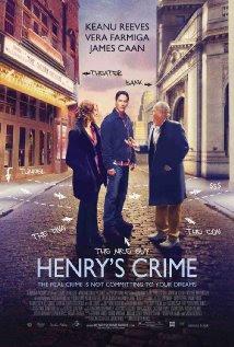 Filme Poster  Henry's Crime BRRip XviD & RMVB Legendado