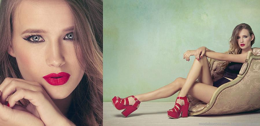 Lady Stork primavera verano 2015. Moda calzado femenino primavera verano 2015. Zapatos, sandalias 2015.