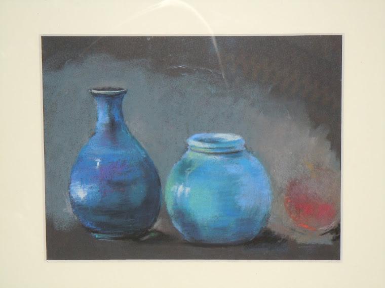 bodegón azul