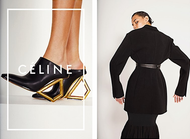 Binx Walton in Celine ss14 ad campaign photographed by Juergen Teller style by Camilla Nickerson