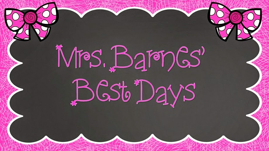 Mrs. Barnes' Best Days