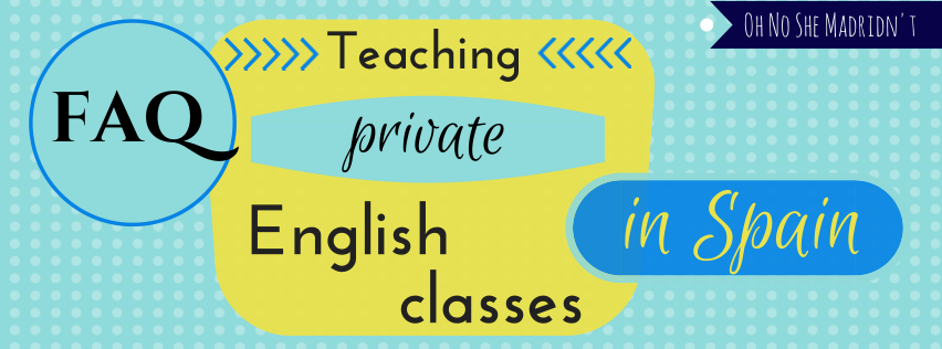 FAQ Teaching Private English Classes in Spain