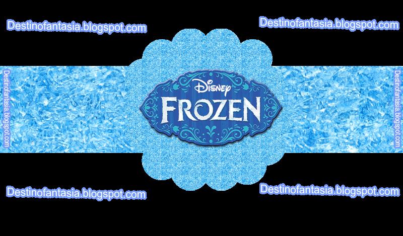rotulos, embalagens festa frozen