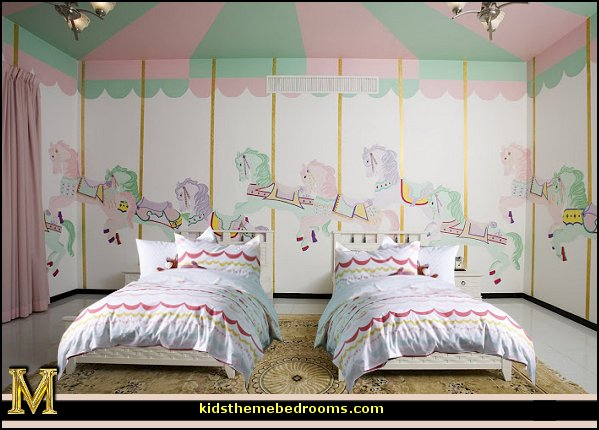 Brilliant Carousel Theme Girls' Bedroom 599 x 430 · 60 kB · jpeg