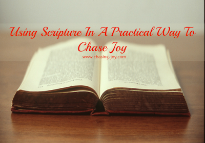Using Scripture to ward off worry and negative thinking.