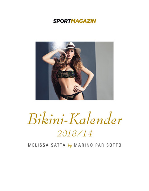 Melissa Satta Bikini for SportMagazin