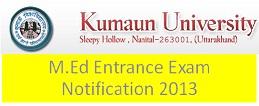 Kumaun university M.Ed