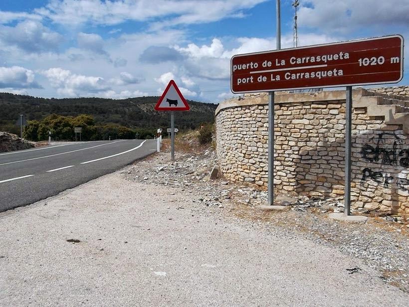 Port de la Carrasqueta - ruta en moto