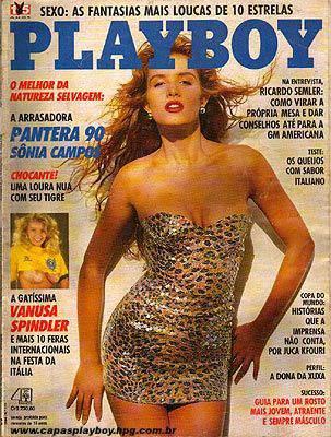 Sônia Campos - Playboy 1990