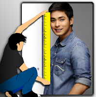 what is coco martin height - how tall
