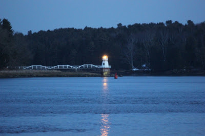 doubling point light, kennebec river