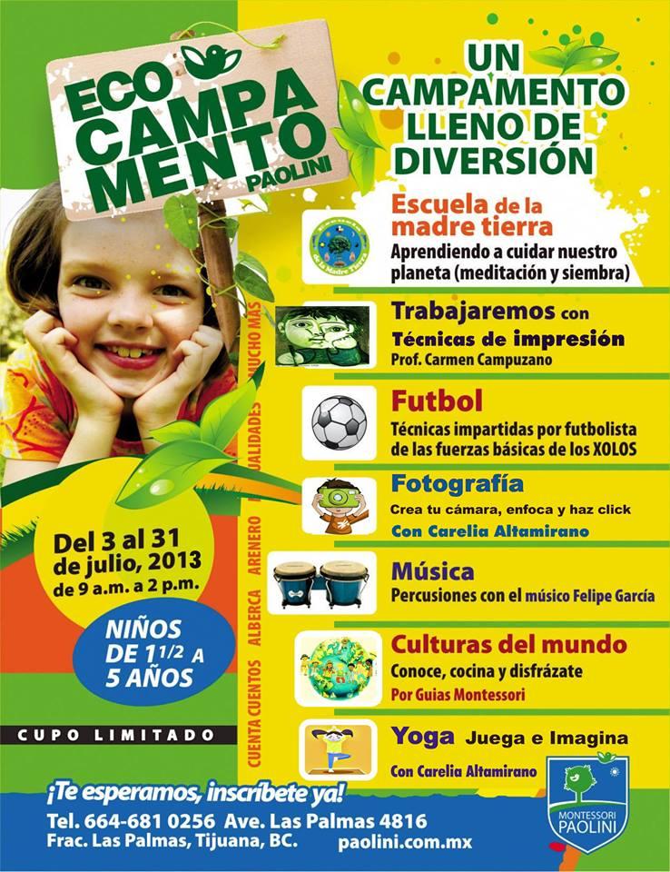 Escuela de la Madre Tierra en campamentos Montessori y mas!