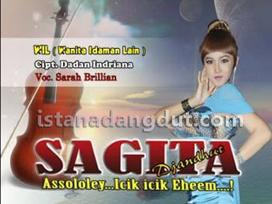 sarah brillian, sagita album ngamen 12, cover album, mp3 tag