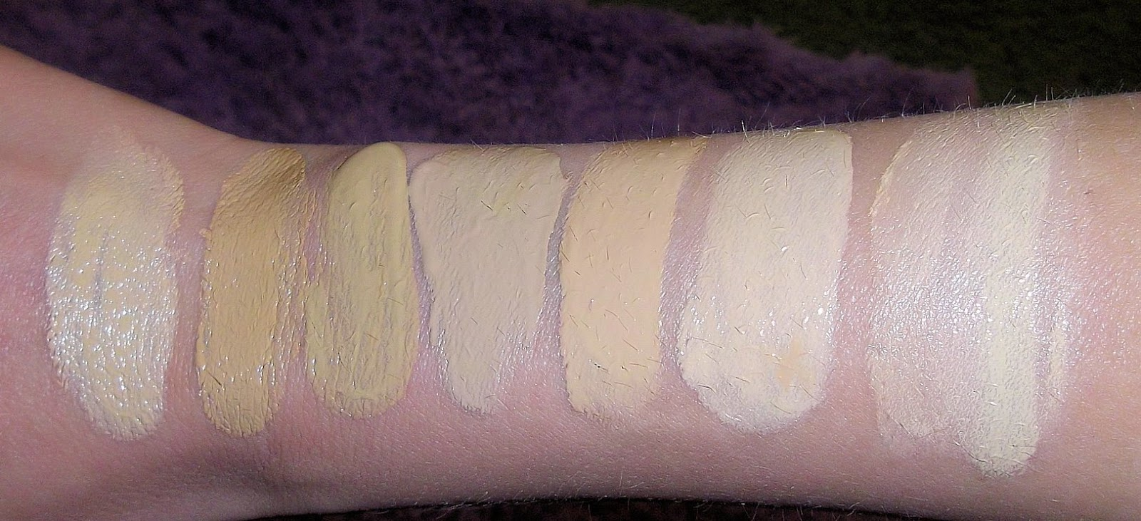 mac face and body foundation shades. bobbi brown foundation swatches mac face and body shades