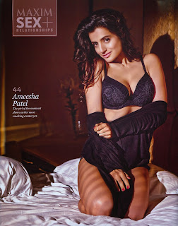 www.CelebTiger.com++Ameesha+Patels+Smoking+Hot+MAXIM+Photoshoot+sn3wVMW Indian Actress Ameesha Patels Smoking Hot MAXIM HQ Photos 2013