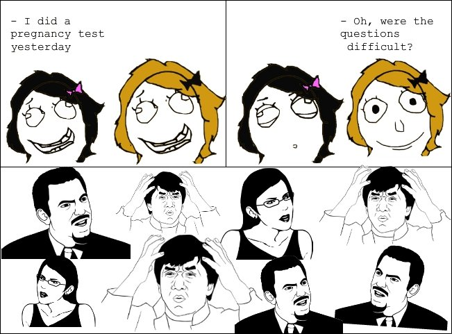 Pregnancy Test - Comic