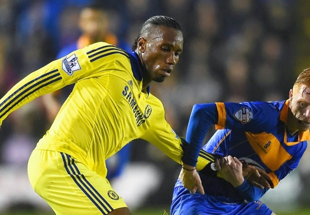 Capital One : Chelsea vs Shrewsbury Town 2-1