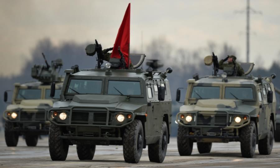 ΒΙΝΤΕΟ με το Desert Tiger: Tο ρωσικό τζιπ που άλλαξε τον πόλεμο στην Συρία