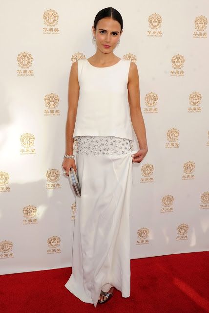 Jordana Brewster attends 2014 Huading Film Awards