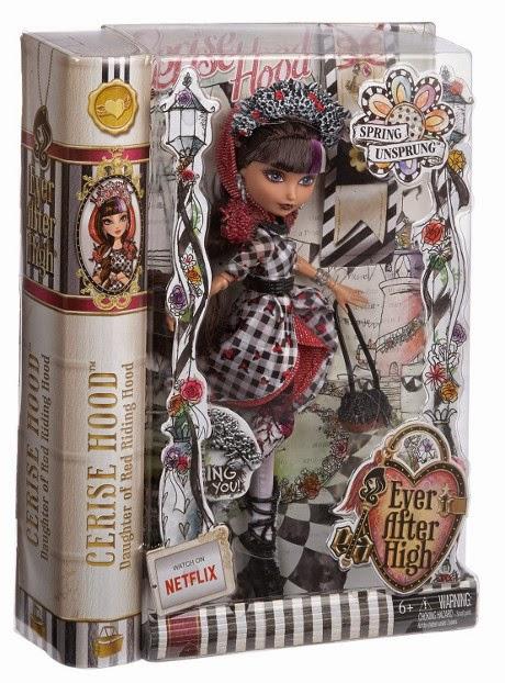 JUGUETES - EVER AFTER HIGH Spring Unsprung  Cerise Hood | Muñeca  Producto Oficial | Mattel | A partir de 6 años