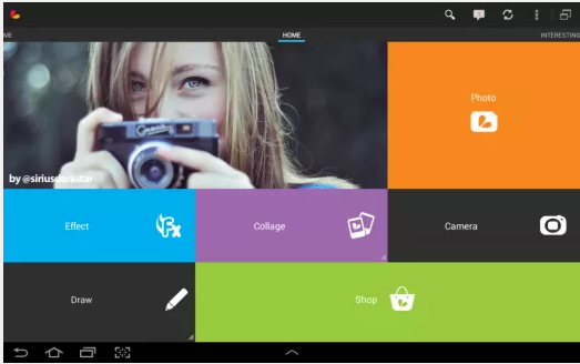 PicsArt-Android Photo Editing App