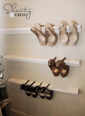 Wall Shoe Organiser