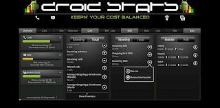 DroidStats controlar gastos en Android