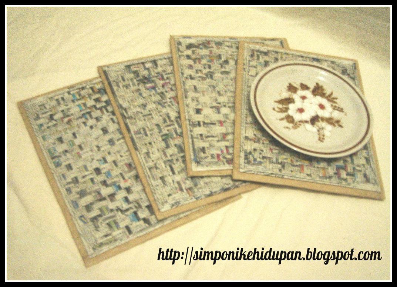 Pelatihan kreasi kertas koran menciptakan banyak produk unik dan
