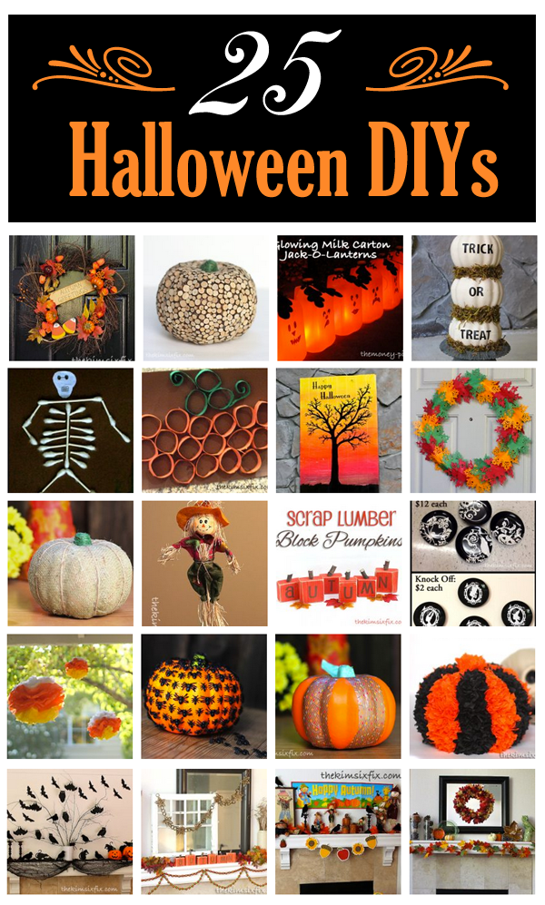 25 Easy and Inexpensive DIY Projects for Halloween