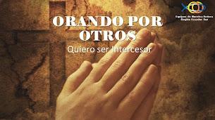 Pedido de Oración Intercesores