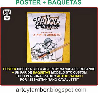 POSTER  CD+ BAQUETAS