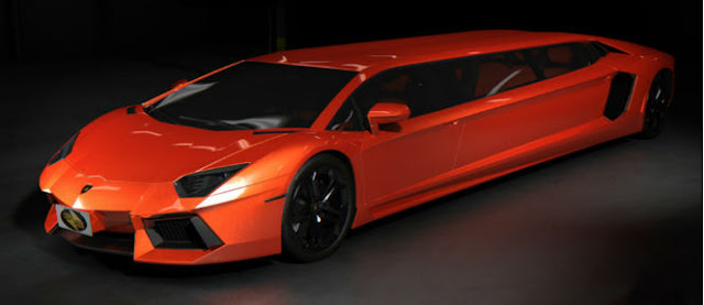 MY LUXURY NOTEBOOK: Lamborghini Aventador Limo Concept