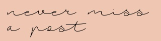 Follow by Mail