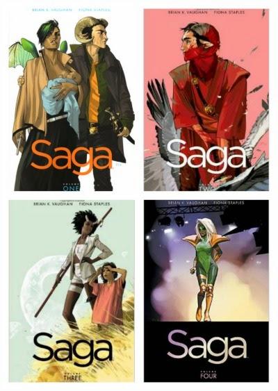 Saga series vols 1-4