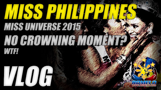 Miss Universe 2015 ★ Miss Philippines, No Crowning Moment? WTF!