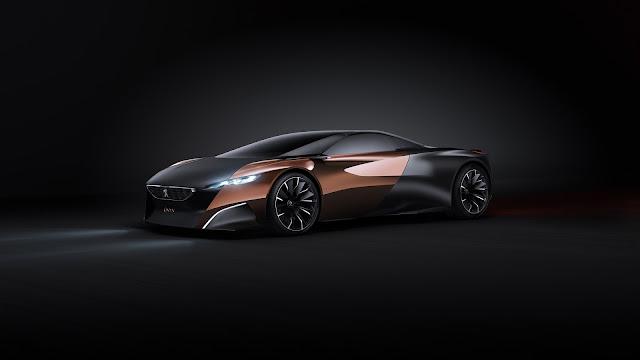 Peugeot Onyx Concept Car Side