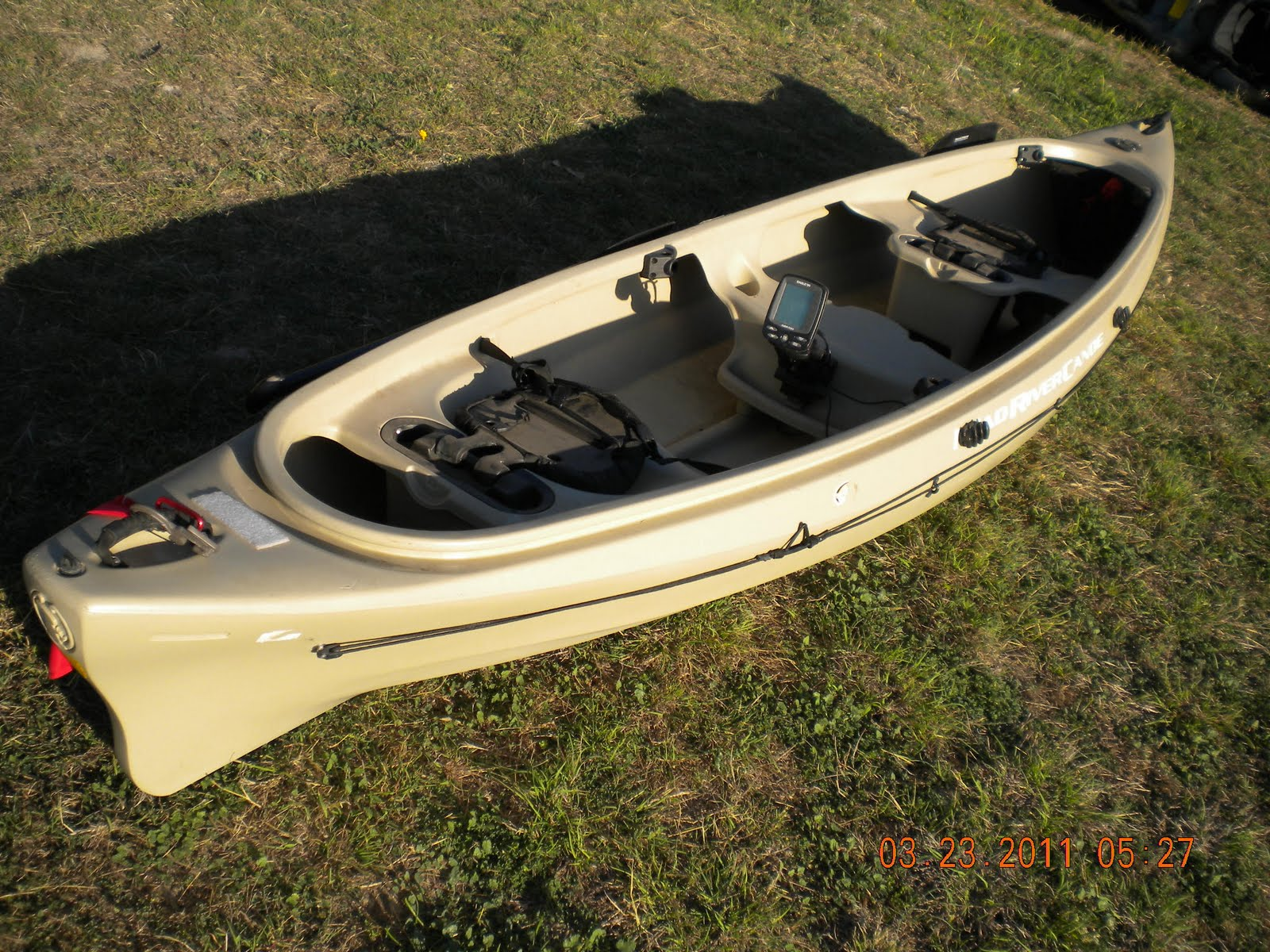 Image gallery mad river canoe for River fishing kayak