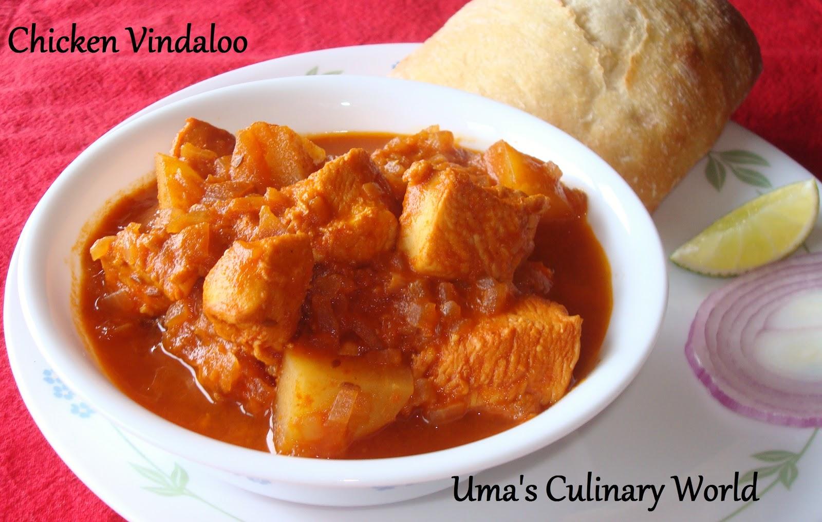 Umas culinary world chicken vindaloo forumfinder Gallery