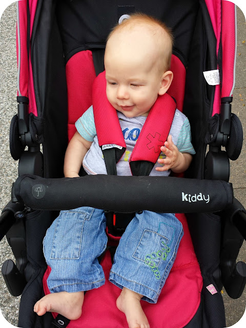 kiddy click'n'move, kiddy pushchair, kiddy travel system